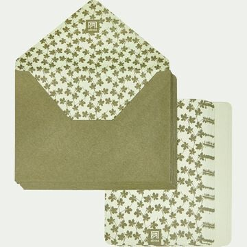 Lot de 20 enveloppes avec cartes figuier-FIGUIER