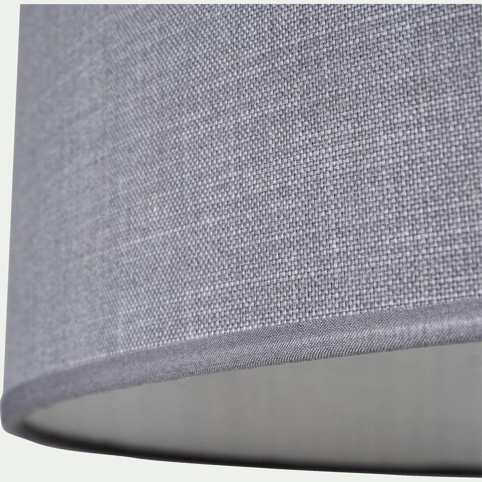 Suspension cylindrique en coton - D75cm gris restanque-MISTRAL