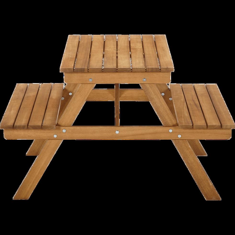 Table de pique-nique en acacia pour enfant - DUOTI - mobilier pour ...