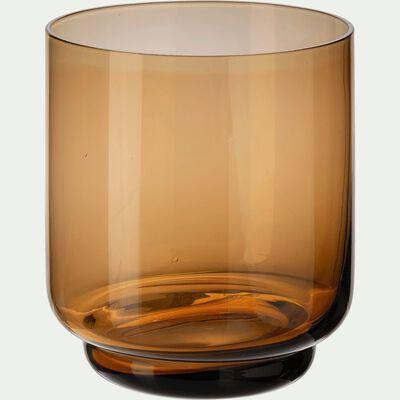 Gobelet en verre ambré 33cl-MARTIN