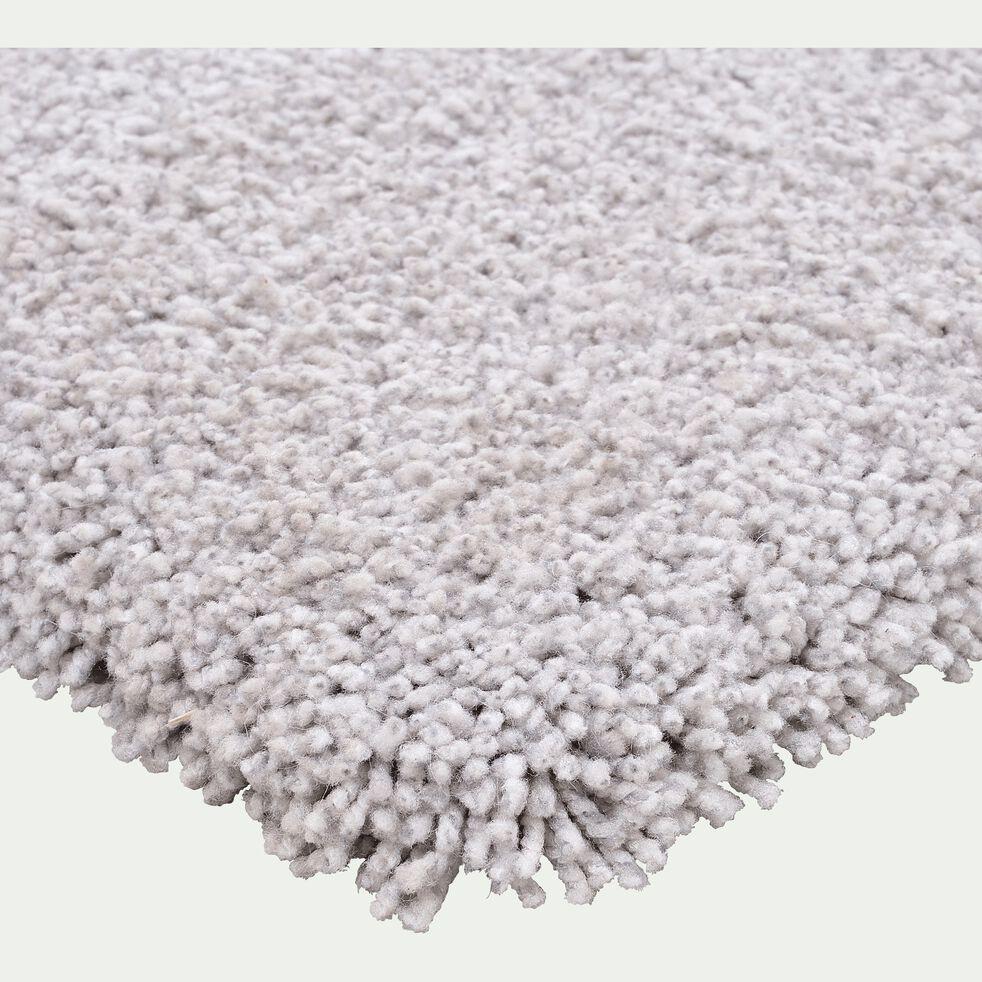 Tapis à mèches longues - gris 120x170cm-LOUNA
