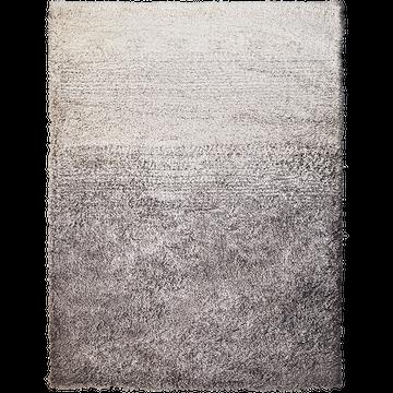 Tapis effet fourrure - gris 160x230cm-mala