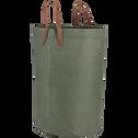 Panier de rangement vert D40xH60 cm-SALIS