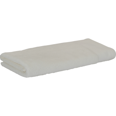 Serviette en coton 50x100cm blanc capelan-AZUR