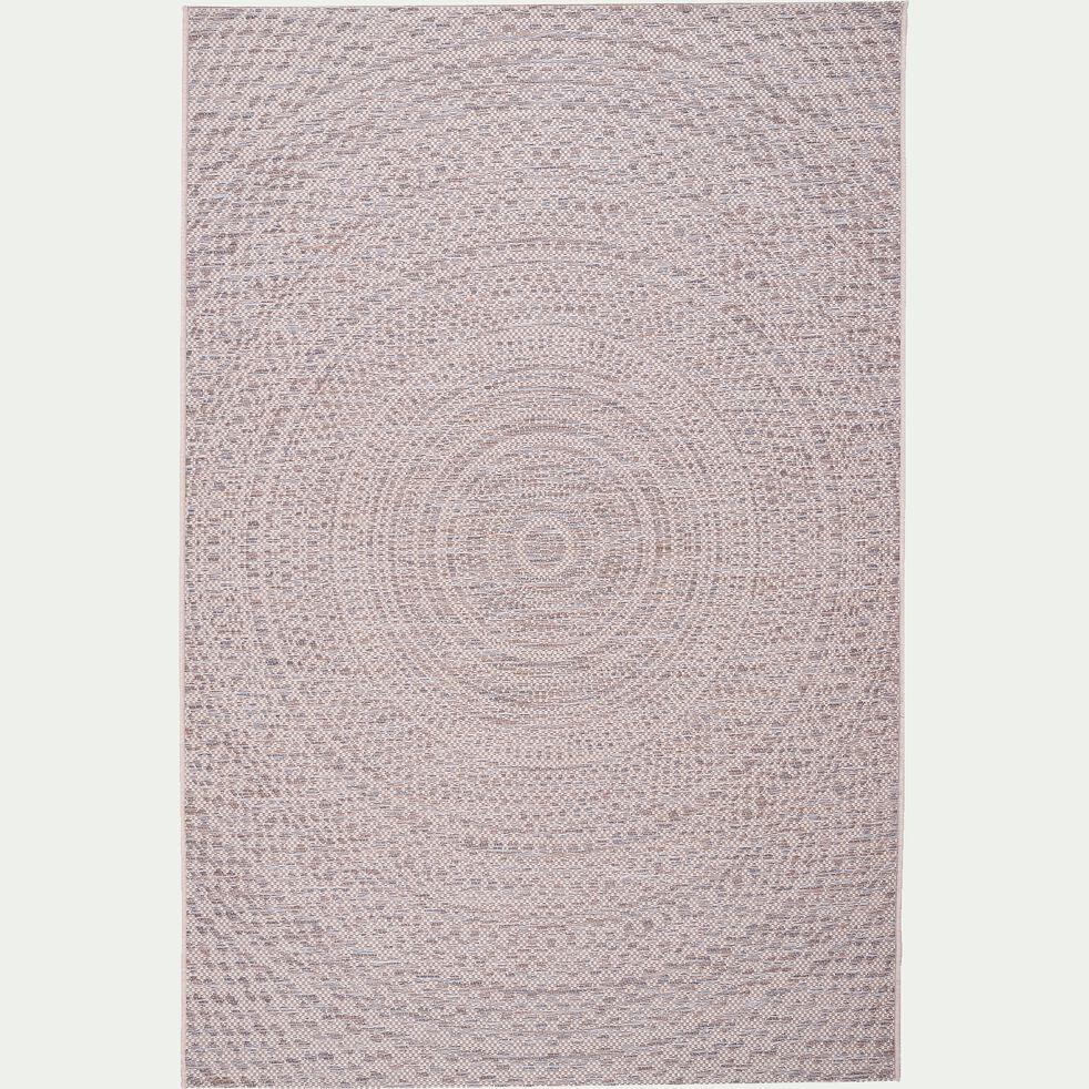 Tapis intérieur et extérieur - écru 120x170cm-HYPNOSE