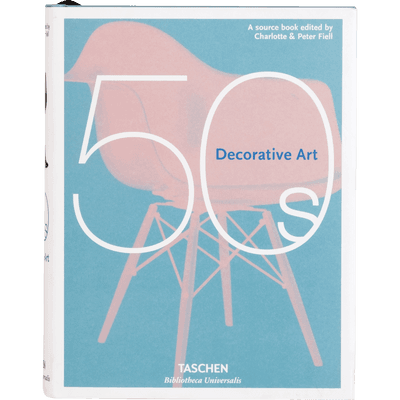 "Livre d'art ""Decorative art 50's""-50 ' S"