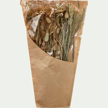 Bouquet de fleurs séchées h45cm - naturel-PIADO