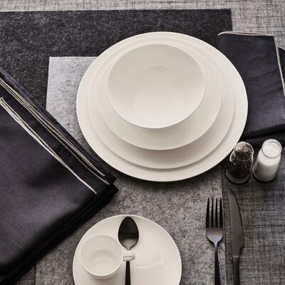 Set de table en feutrine noir 30x45cm-JAURES