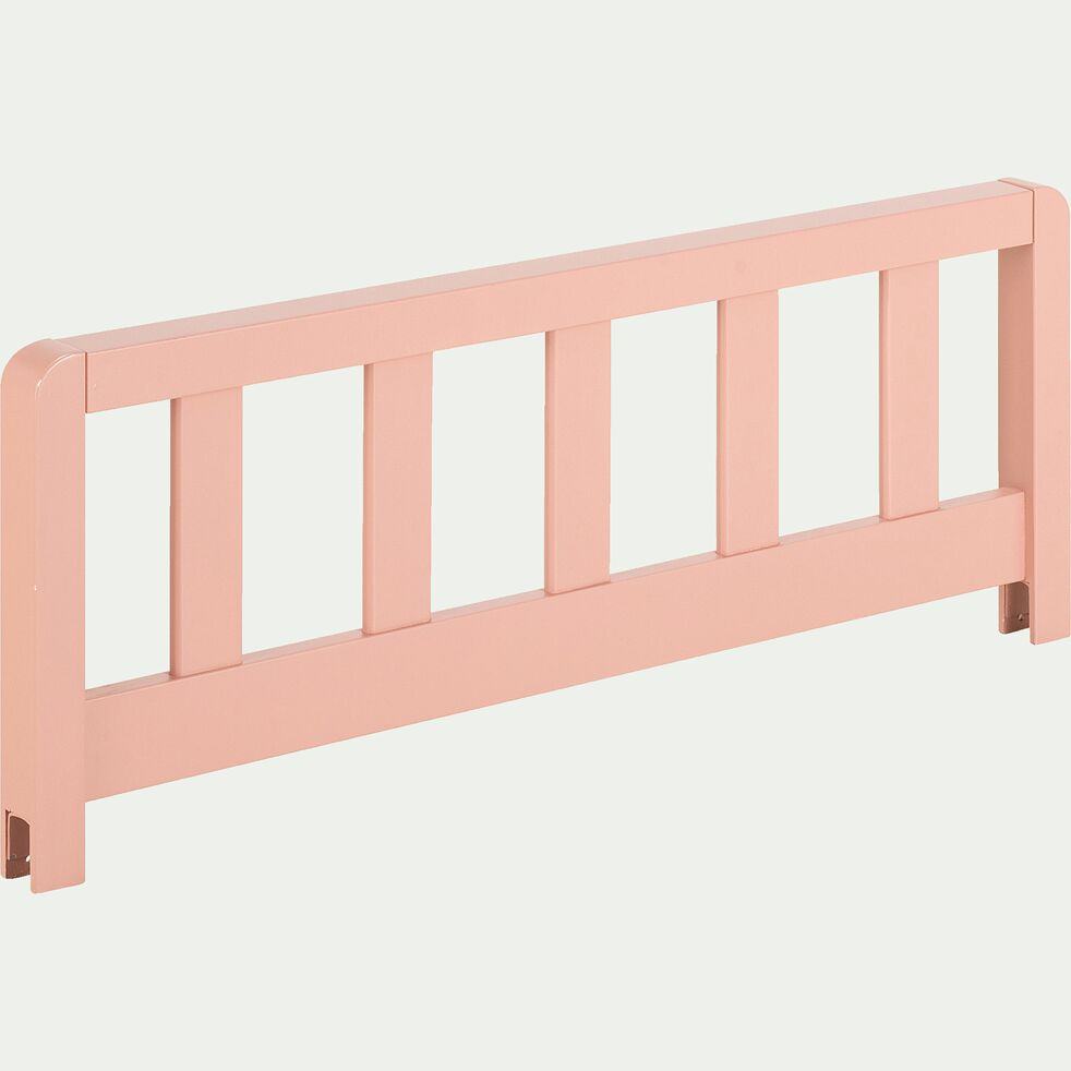 Barrière de sécurité en bois pour lit enfant - rose salina-JAUME