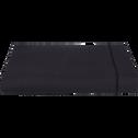 Drap plat en coton Gris calabrun 270x300cm-CALANQUES