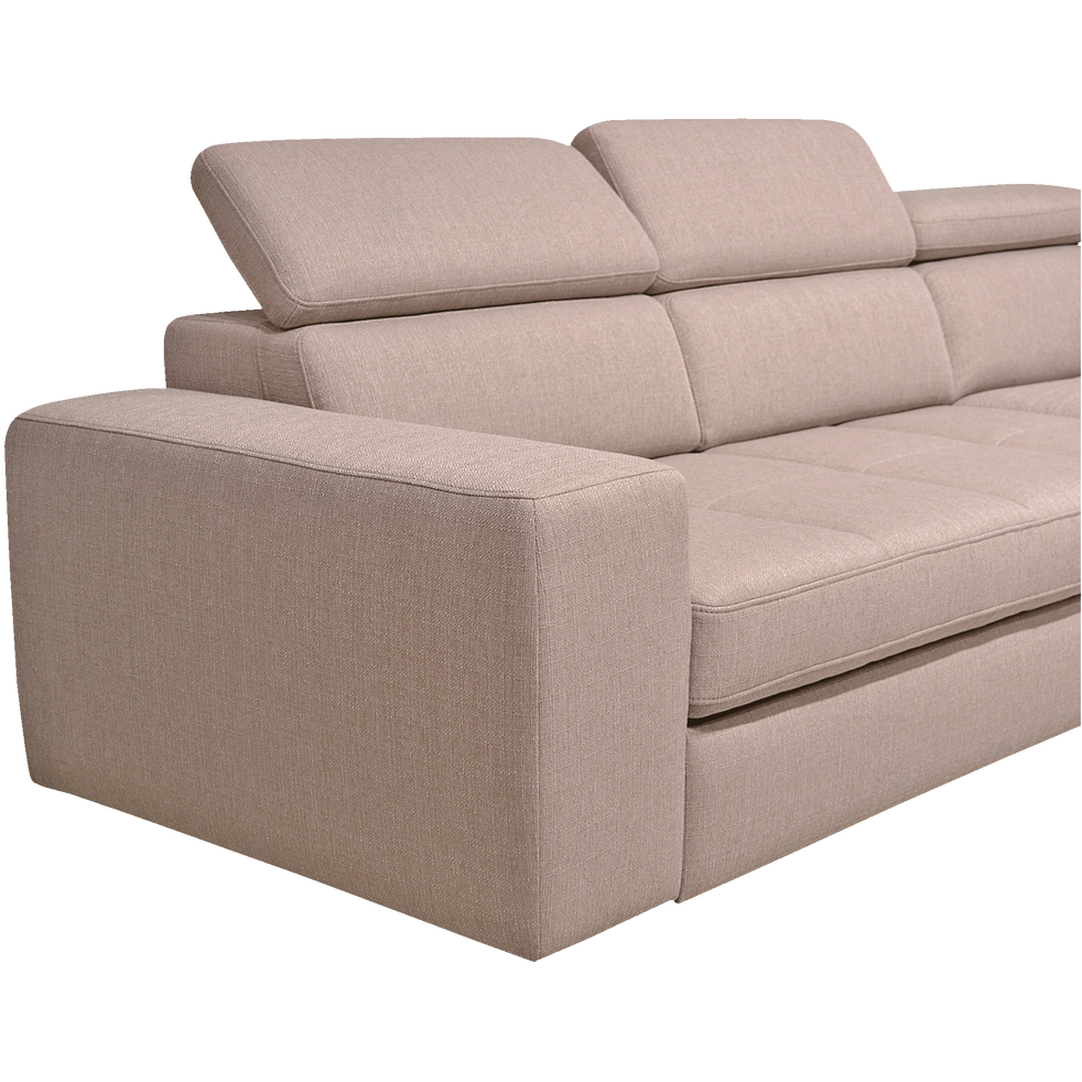 canap d 39 angle droit panoramique convertible en tissu gr ge tonin canap s d 39 angle en tissu. Black Bedroom Furniture Sets. Home Design Ideas