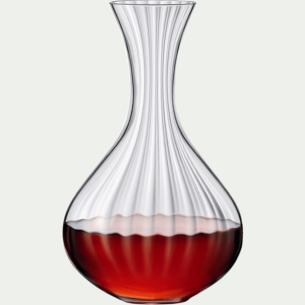 Carafe en cristallin transparent 1.5L-WATERFALL