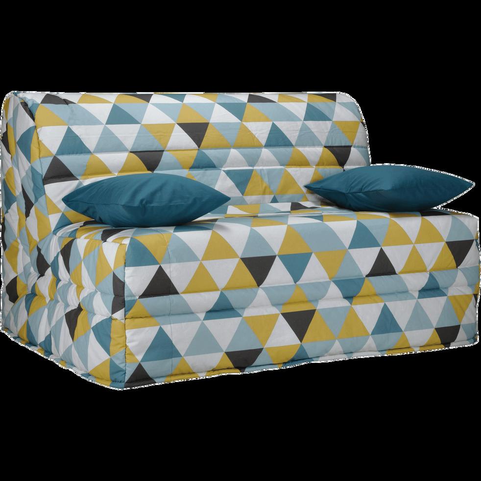 housse pour bz 160cm motifs triangles scandi housses. Black Bedroom Furniture Sets. Home Design Ideas