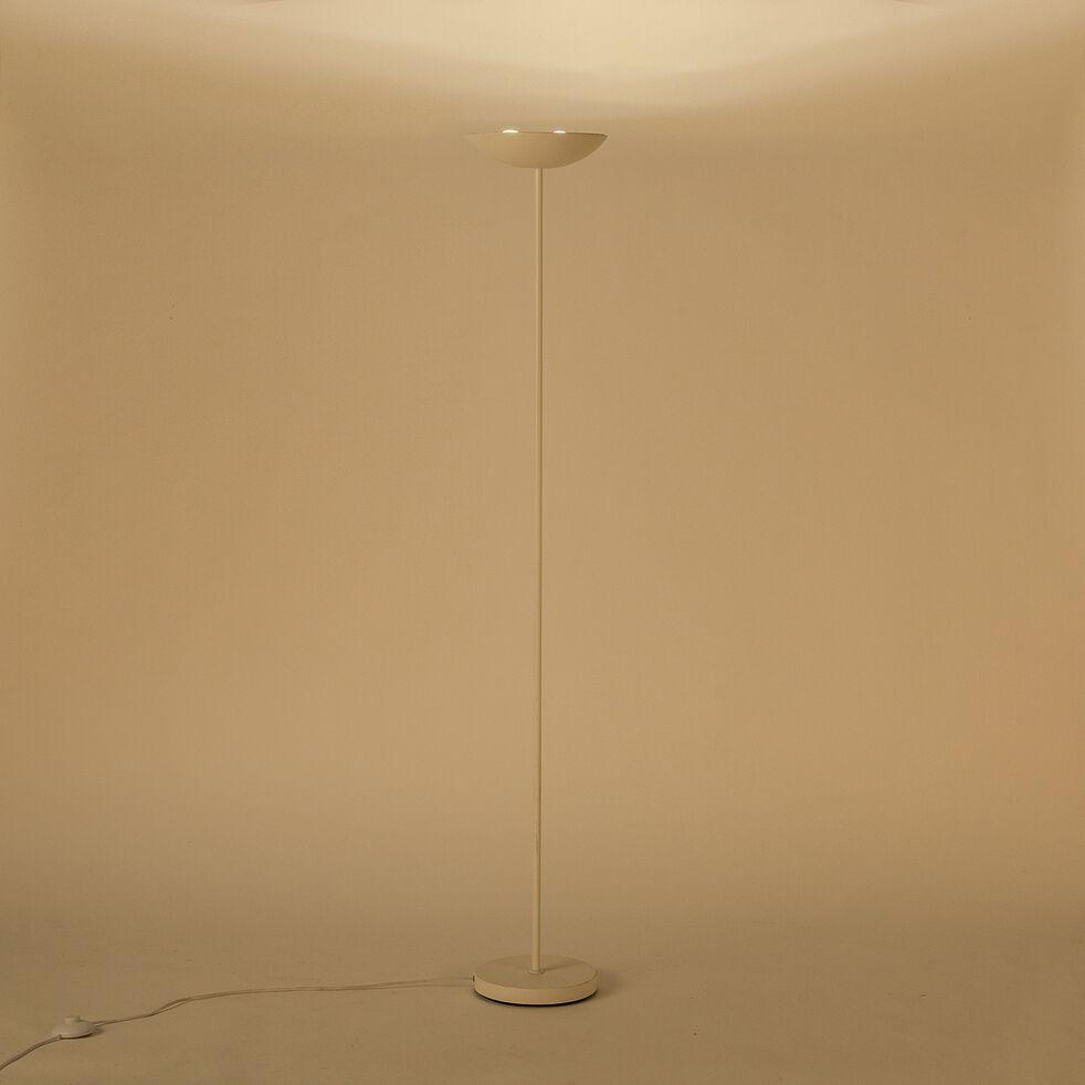 Lampadaire en métal - blanc H178,5cm-JERSEY
