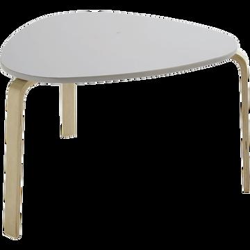 Table couleur blanche pour enfant-LOU