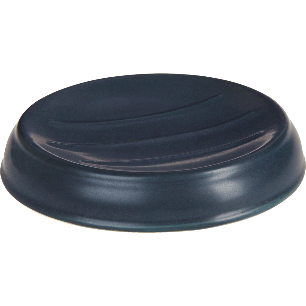 Porte-savon en céramique noir-MECA