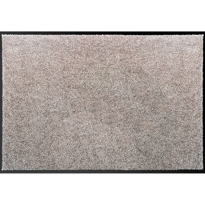 tapis d'entrée paillasson gris clair 40x60 cm-BEN