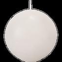 Bougie boule blanc nougat-BEJAIA