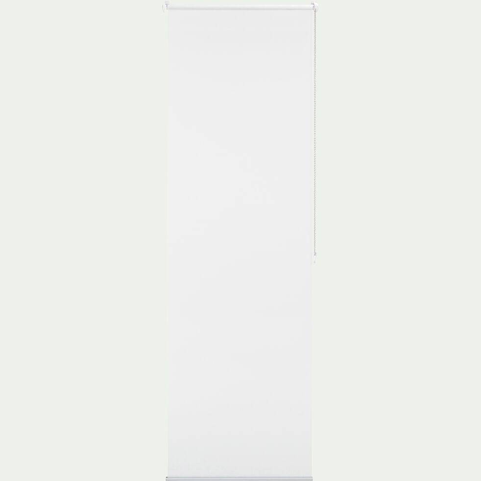 Store enrouleur voile blanc 52x170cm-EASY VOILE