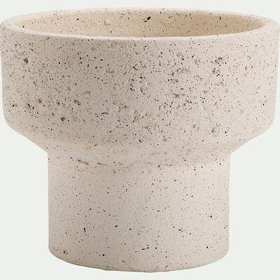Pot en terre cuite - H17xD19cm beige-PILA