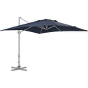 Parasol déporté bleu 3x3m-AURIOL