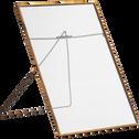 Cadre photo en métal doré 20x30cm-PIAVE