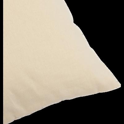 Coussin de sol en coton beige roucas 70x70cm-CALANQUES