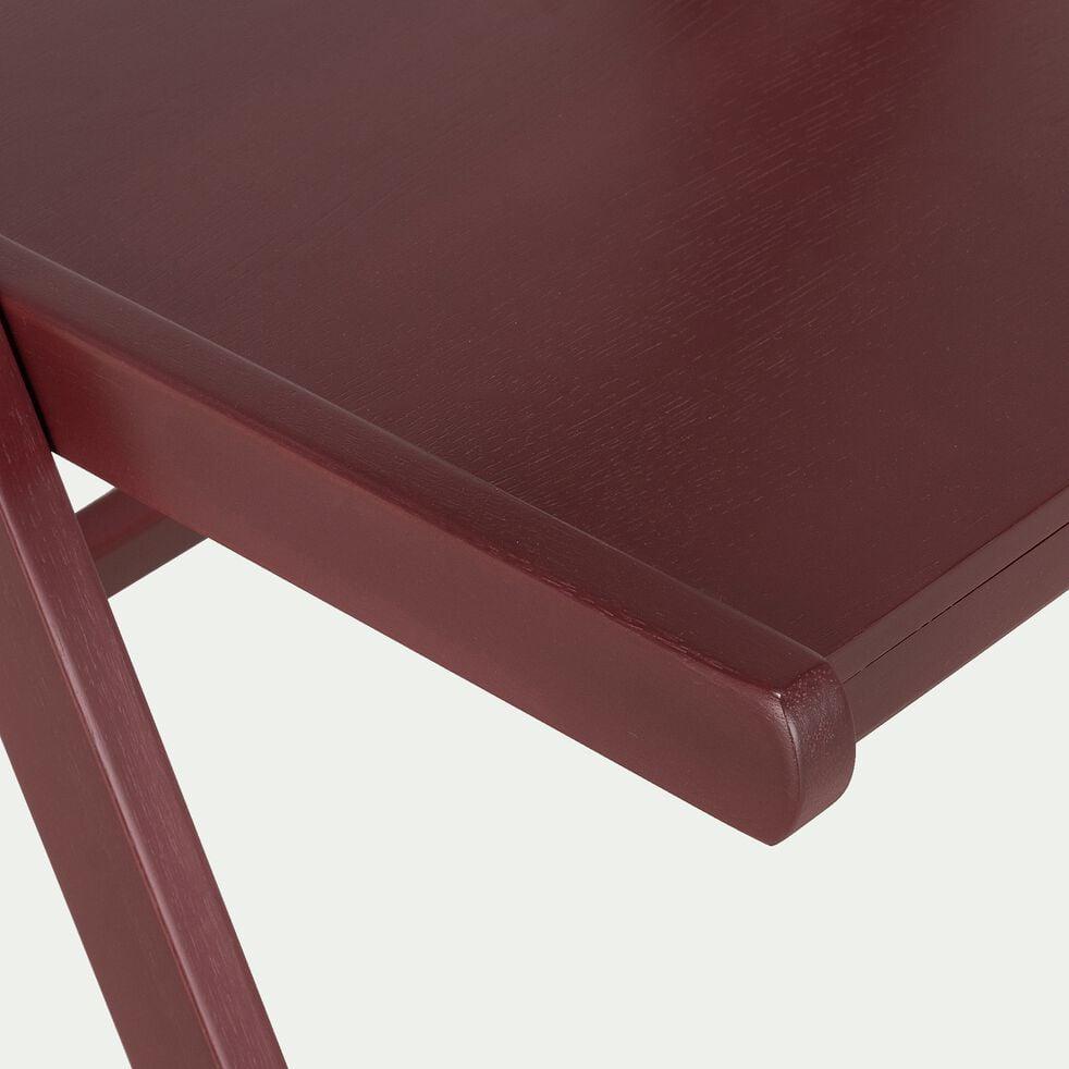 Chaise pliante en bois - rouge sumac-JULIA