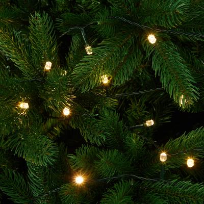 Guirlande lumineuse 9,9m - 100 LED blanc classique-SCINTILL