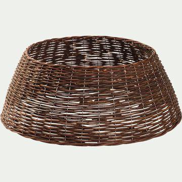 Pied de sapin - D70x28cm brun-CONCA