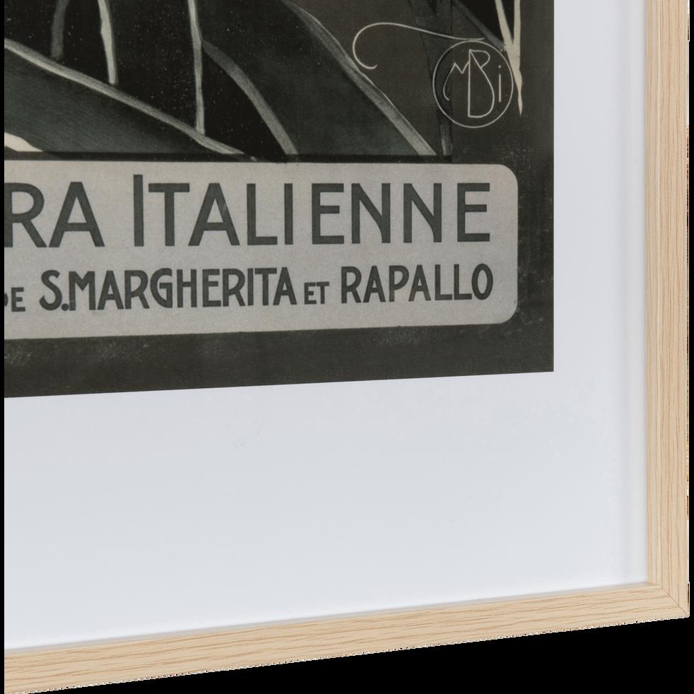 Image encadrée 50x70 cm-Riviera