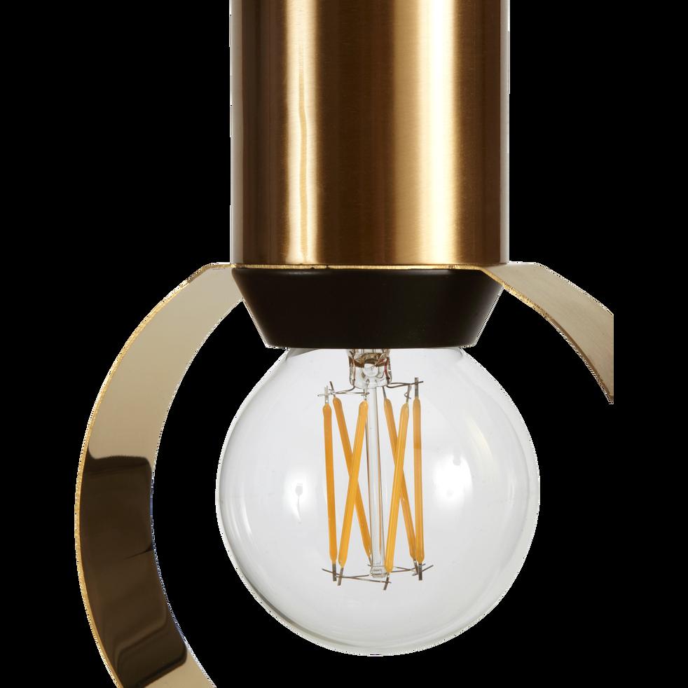 Suspension en métal doré H26,5xD15cm-ARA