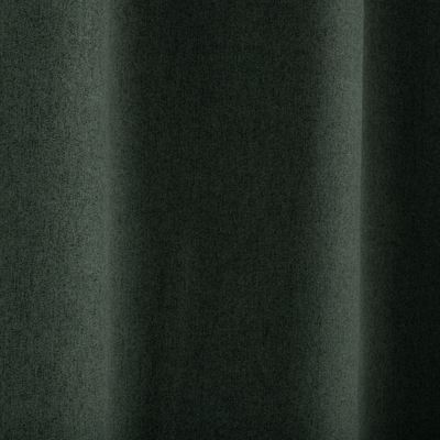 Rideau à œillets occultant vert cèdre 140x260cm-ATOWA