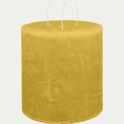 Bougie lanterne - beige nèfle D15xH15cm-BEJAIA