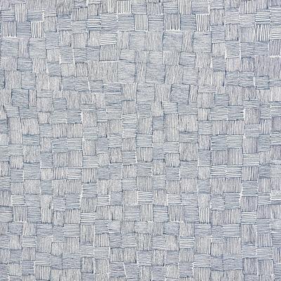 Papier peint intissé motif bleu 53cm x 10m-GRANS