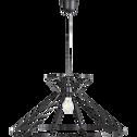 Suspension en métal noir D60cm-VOG