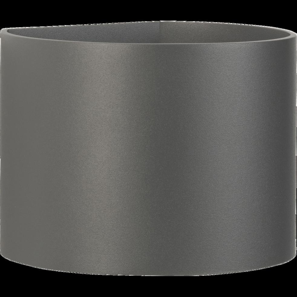 Applique en aluminium gris 10x11x13cm-XIO