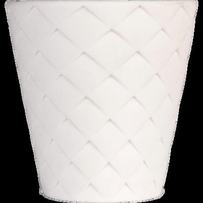 Tasse en porcelaine blanche 8cl-NATTE