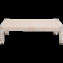 Banc en bois blanc capelan-AGNEL
