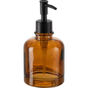 Distributeur de savon en verre marron-OSCO