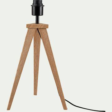 Lampe à poser en bois - chêne H45,5xD20cm-TRIX