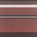 Housse de couette en percale de coton 260x240cm et 2 taies d'oreillers-GASPARD