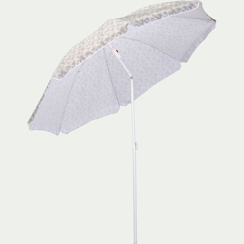 Parasol de plage - motif pin d'alep (D180cm)-GASSIN