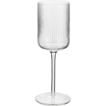 Verre à eau en verre strié 40cl-VAVIN