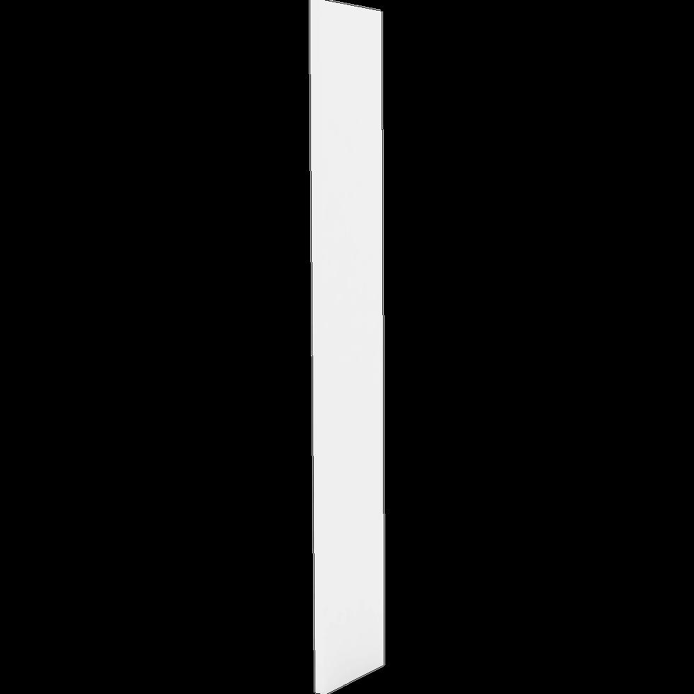 Lorena Montant De Séparation Blanc Deux Hauteurs Pour Bibliothèque H206cm