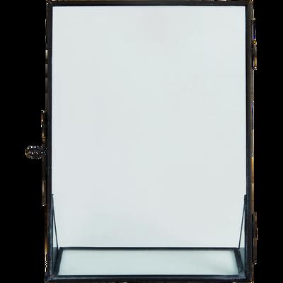 Cadre photo en métal noir - 13x18 cm-ASTRO