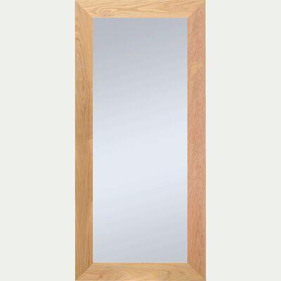 Miroir en chêne 89x169cm-EMBRUN