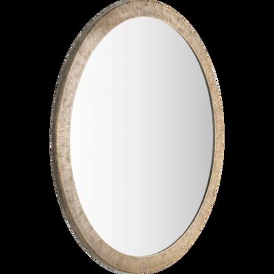 Miroir en métal D63,5 cm-MATUCANA