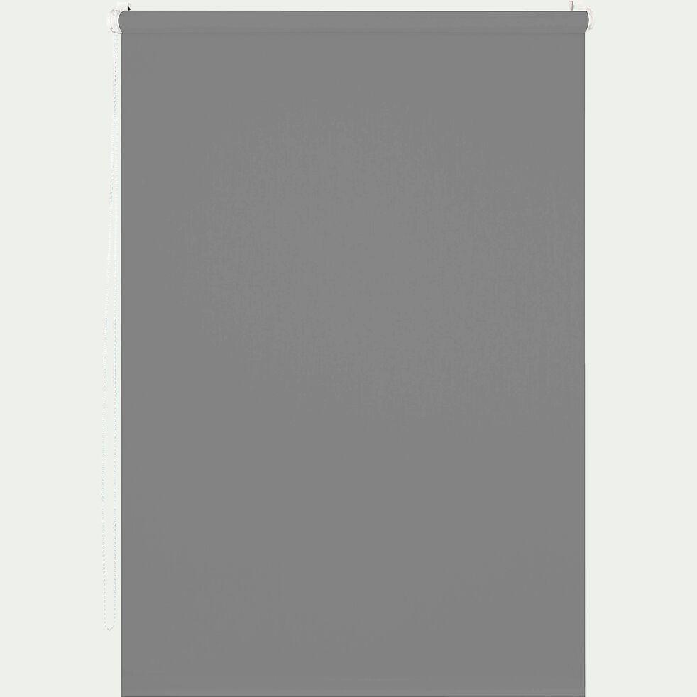 Store enrouleur occultant - gris 62x190cm-EASY OCC