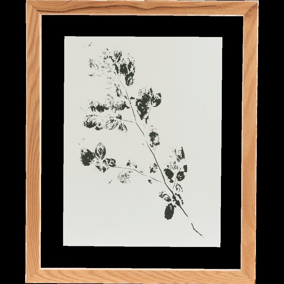 Image encadrée 44x54 cm-NATAQUA
